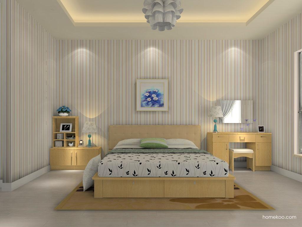 丹麦本色卧房家具A11695