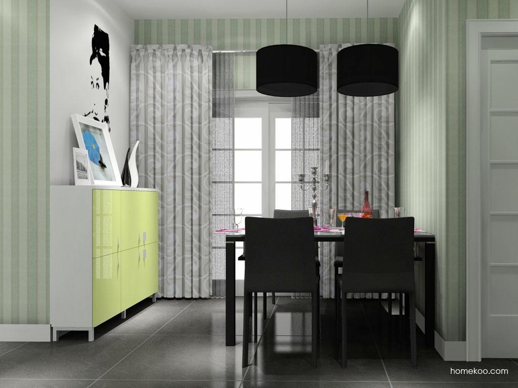 浪漫主义餐厅家具E8925