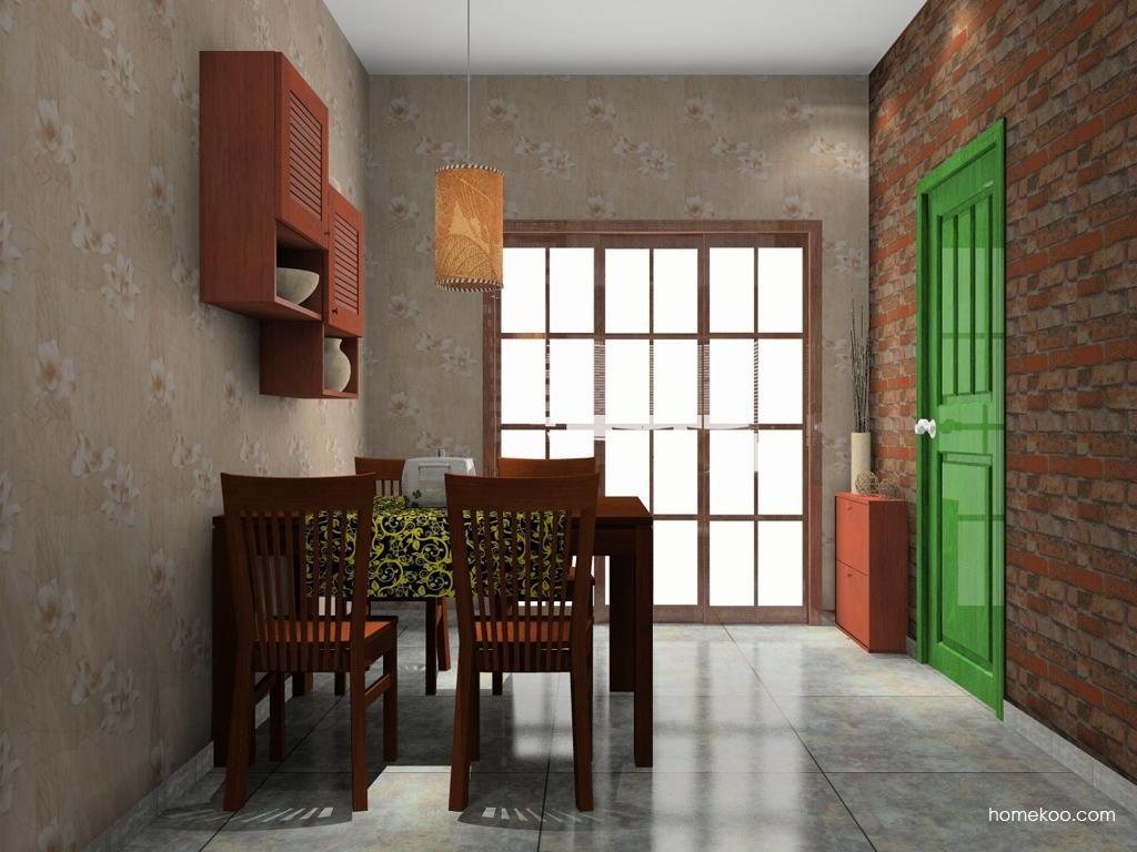 新中式主义餐厅家具E8944