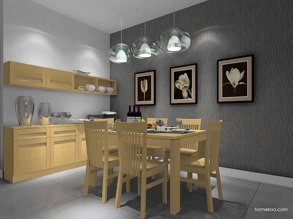 丹麦本色餐厅家具E8947