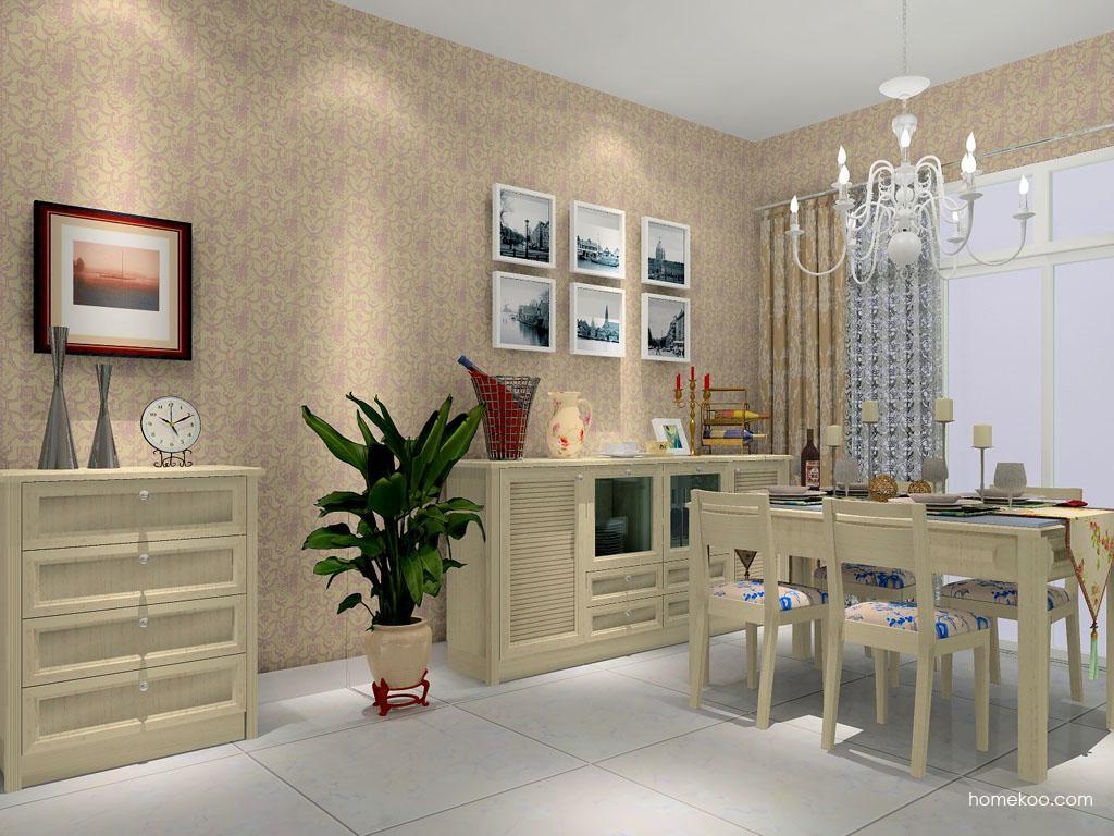 英伦印象餐厅家具E8960