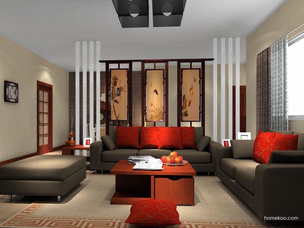 新中式主义客厅家具D8970