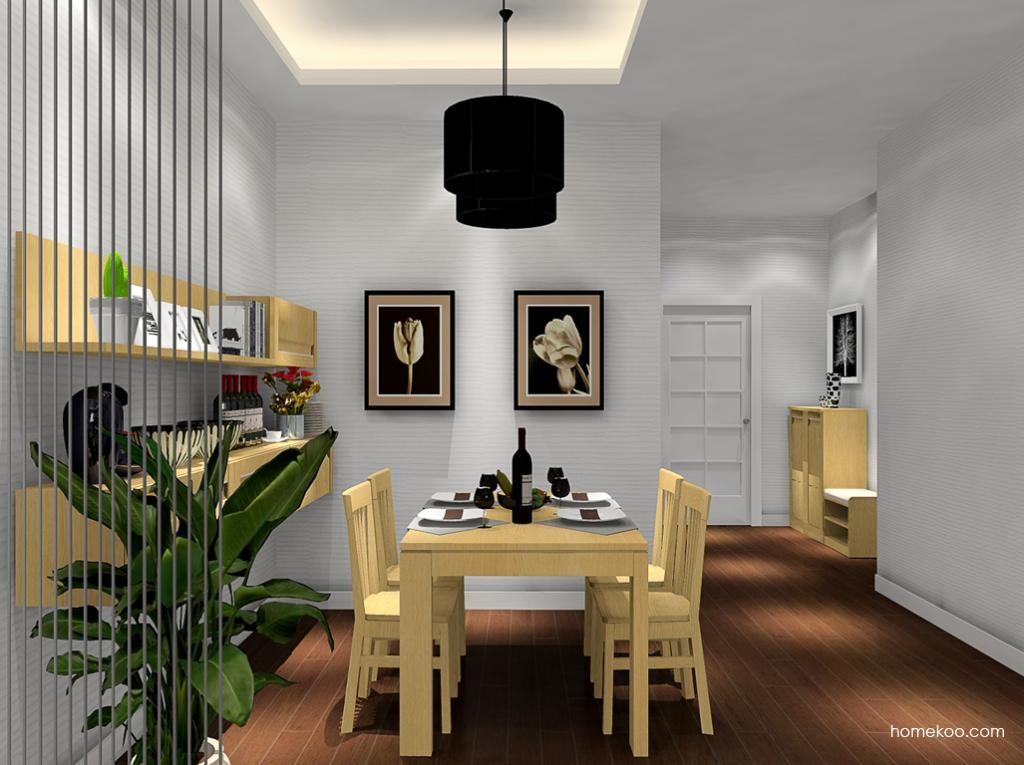 丹麦本色餐厅家具E8972