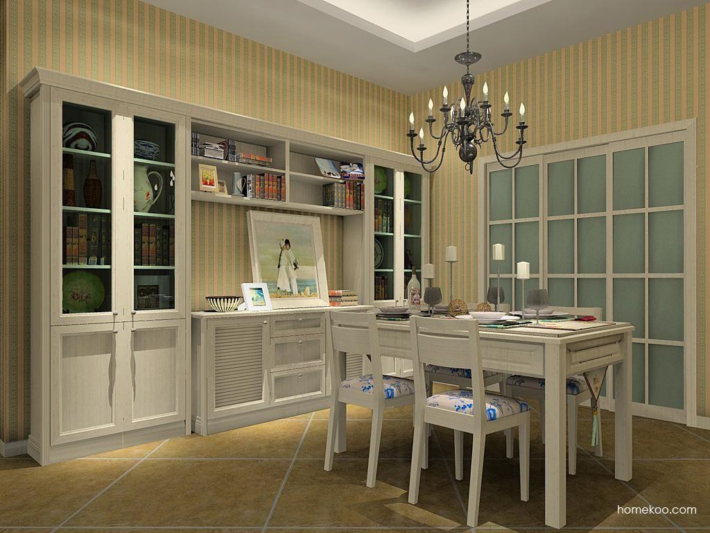 英伦印象餐厅家具E8975