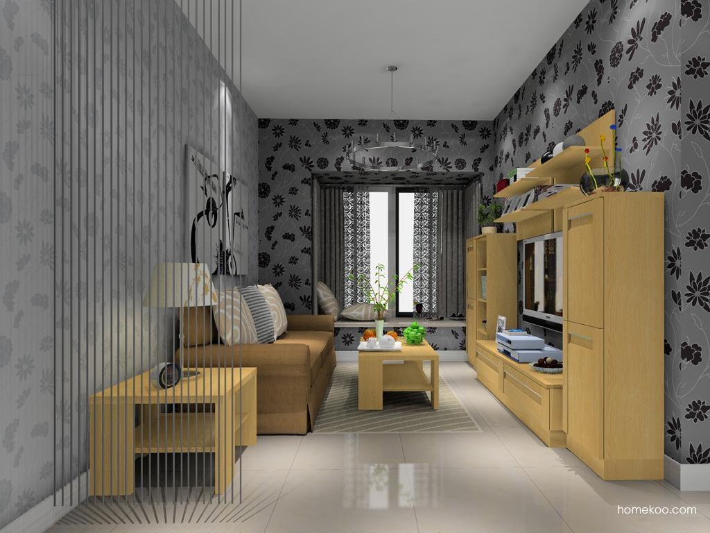 丹麦本色客厅家具D8981