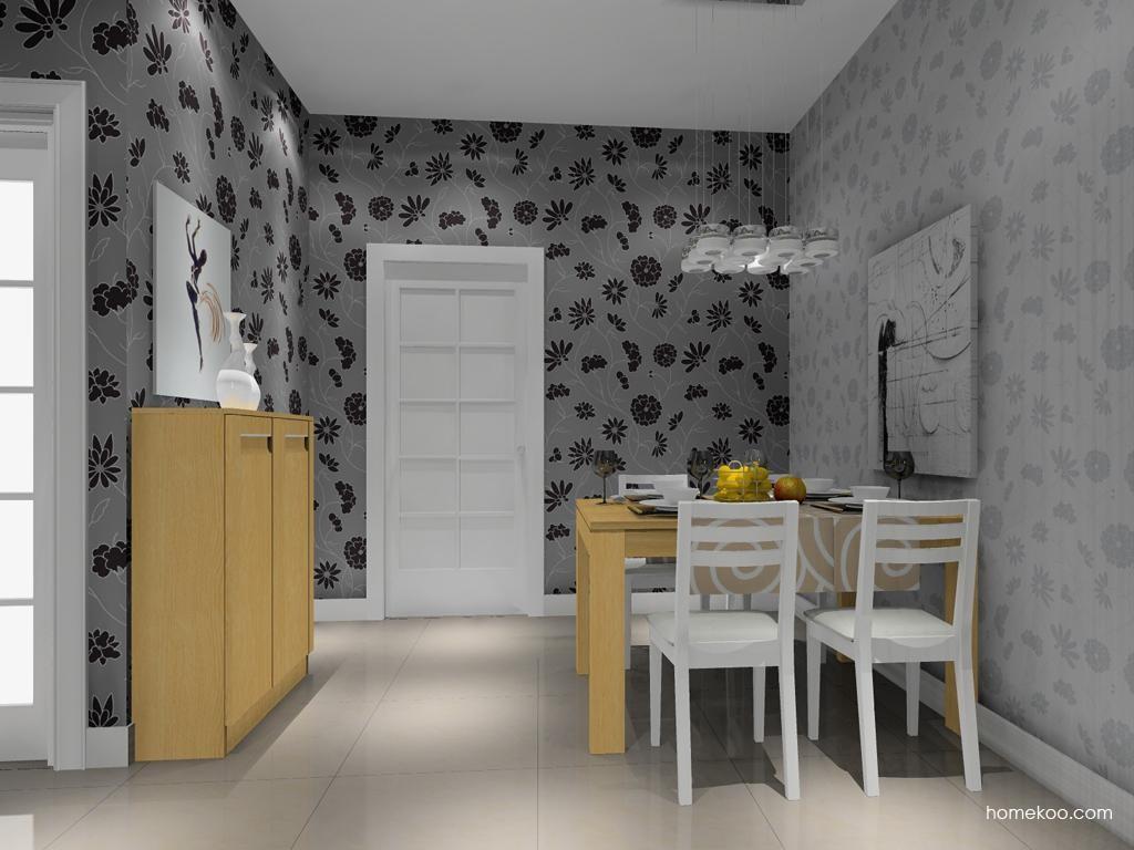 丹麦本色餐厅家具E8977