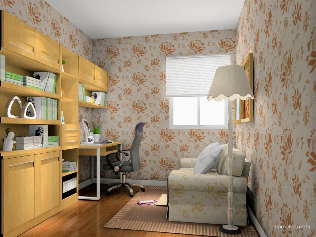 丹麦本色书房家具C10607