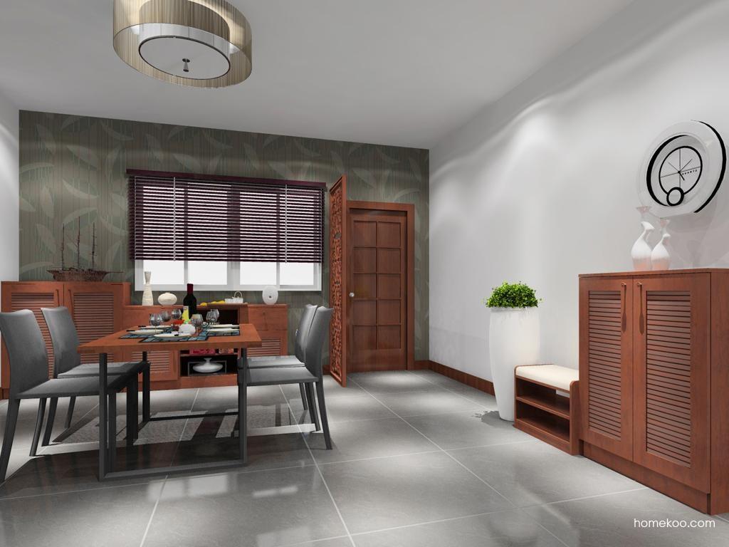新中式主义餐厅家具E9008
