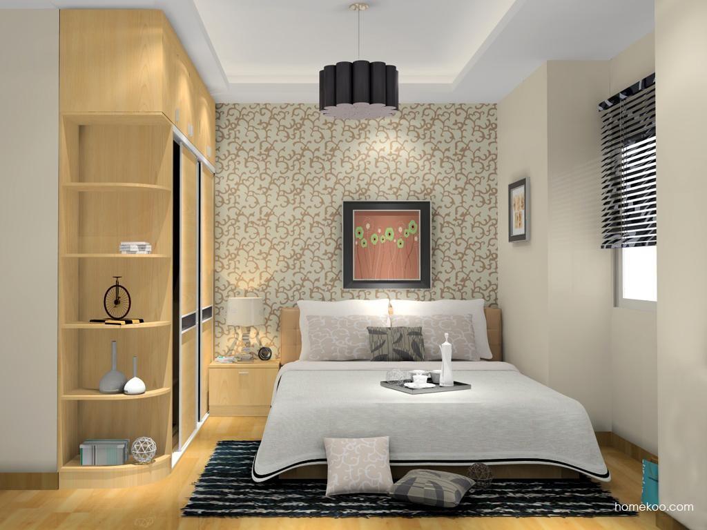 新实用主义卧房家具A11849