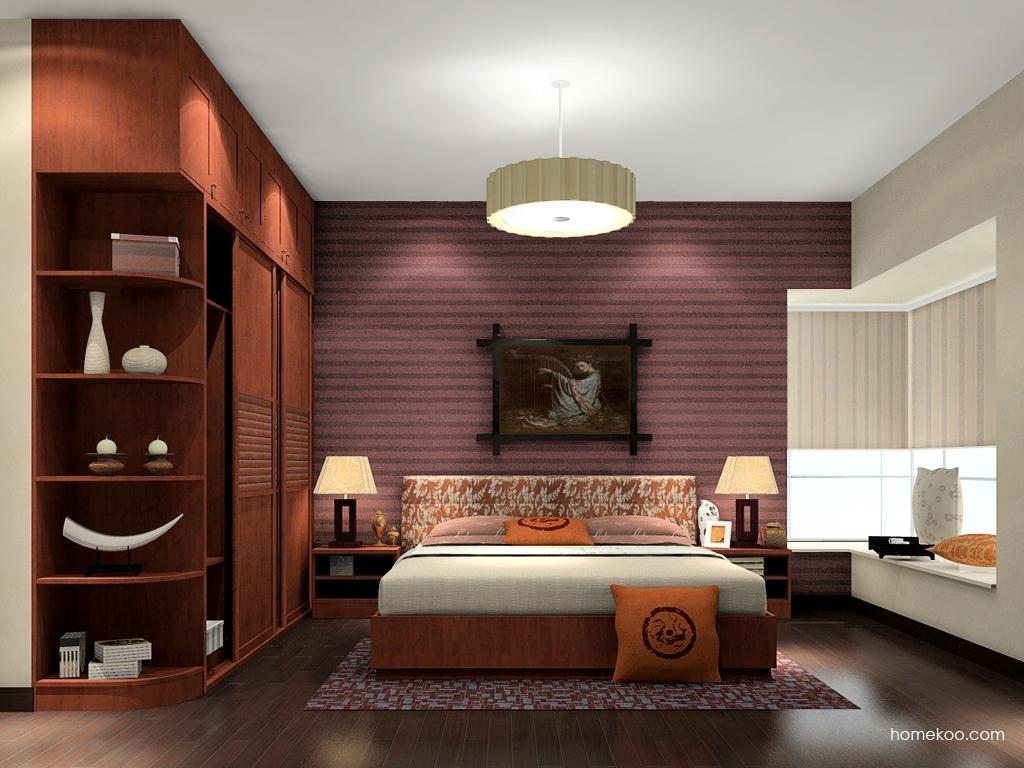 新中式主义卧房家具A11882