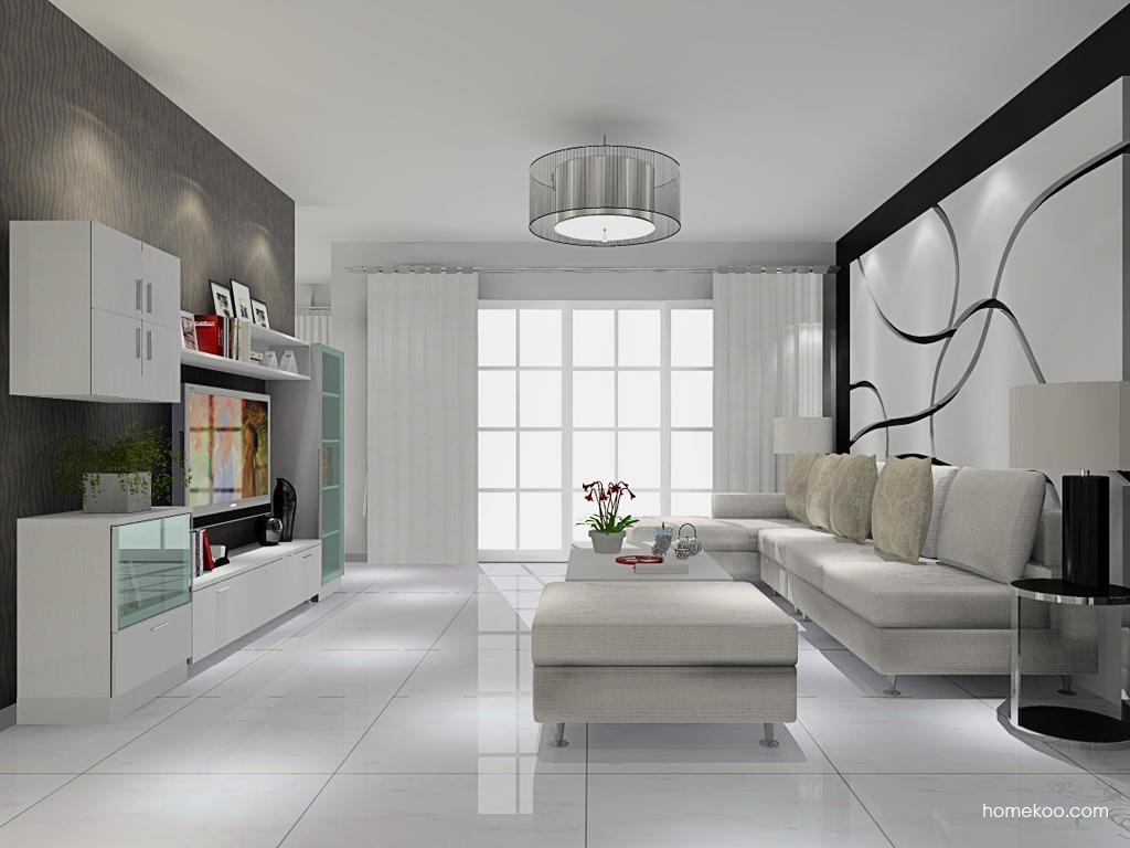 新实用主义客厅家具D9074