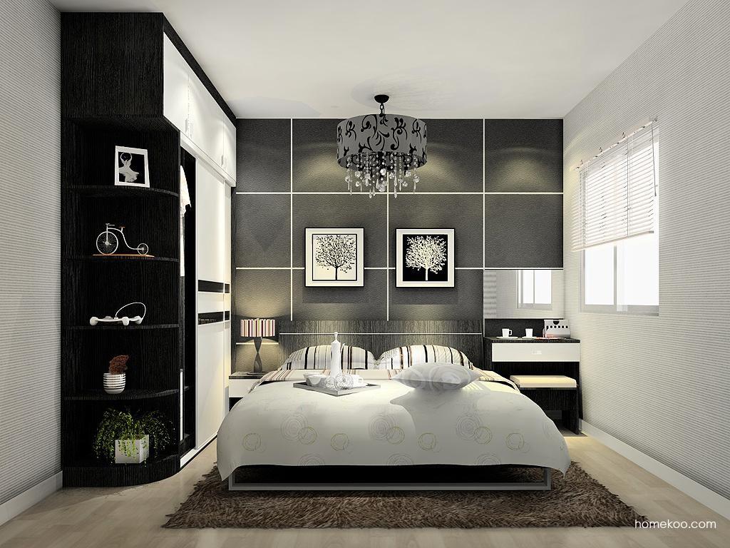 简约主义卧房家具A11888