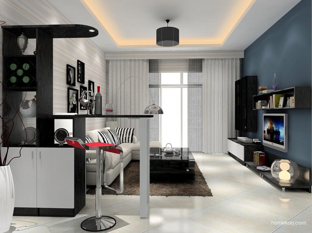 简约主义客厅家具D9080