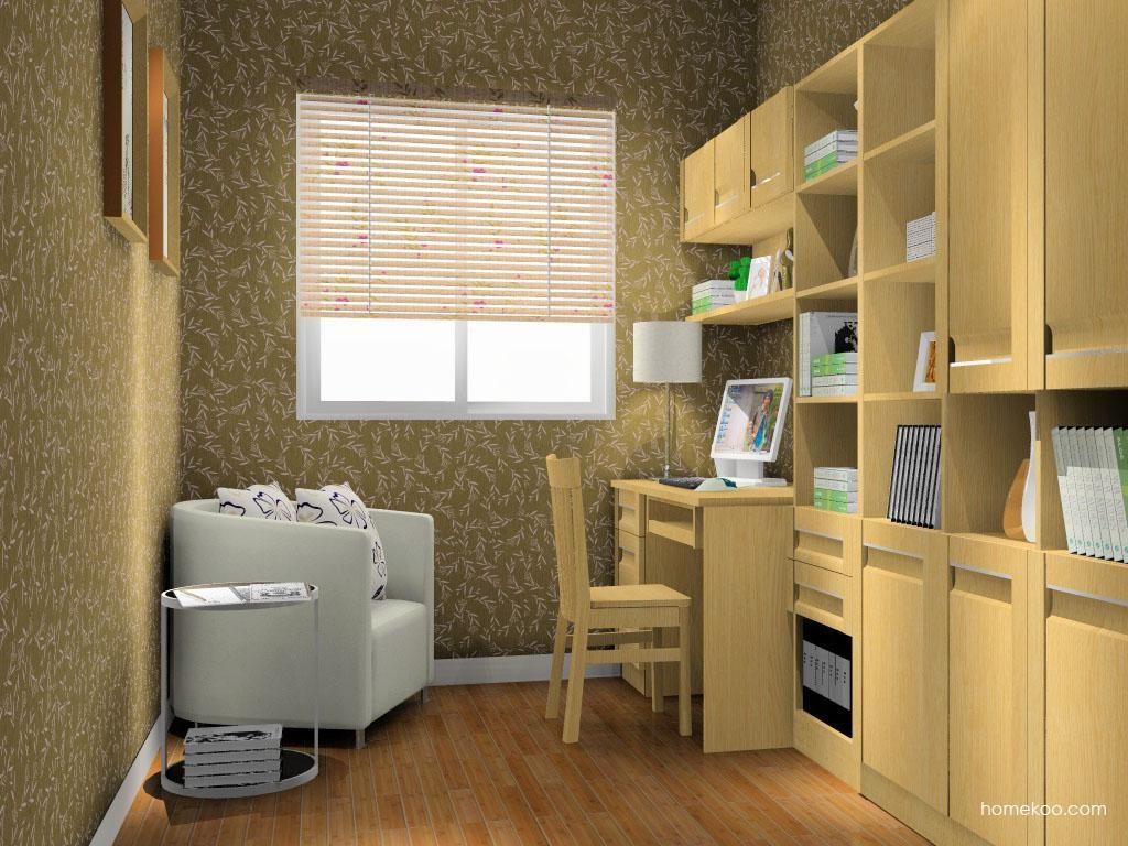 丹麦本色书房家具C10630