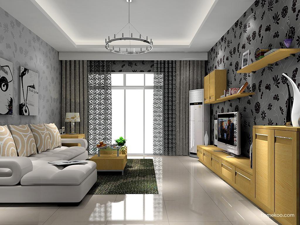 丹麦本色客厅家具D9089