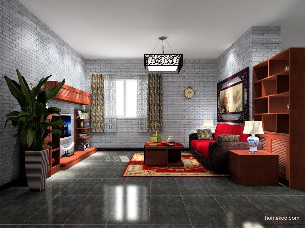 新中式主义客厅家具D9093