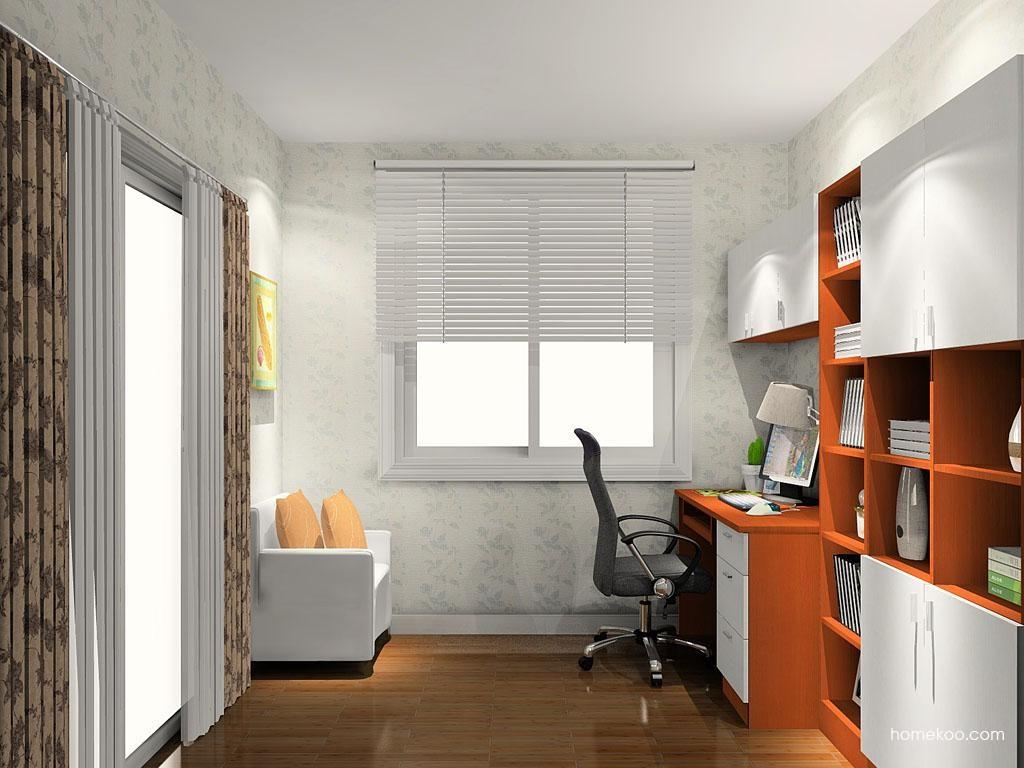 新实用主义书房家具C10633