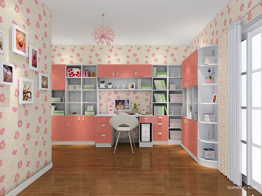 浪漫主义书房家具C10636