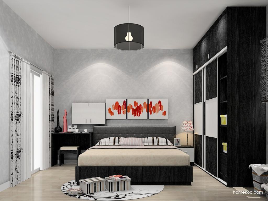简约主义卧房家具A11933