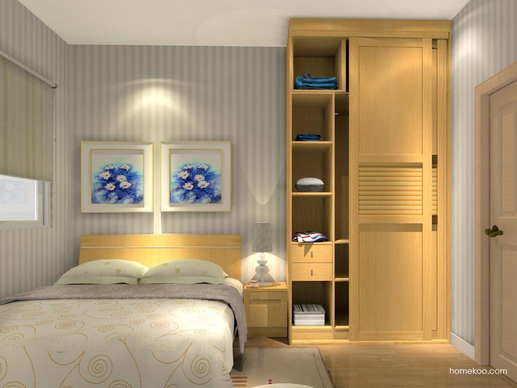 丹麦本色卧房家具A11937