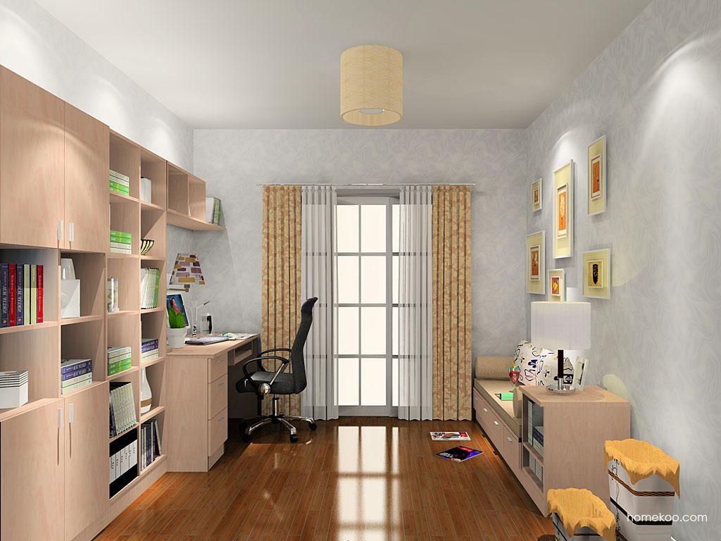 新实用主义书房家具C10639