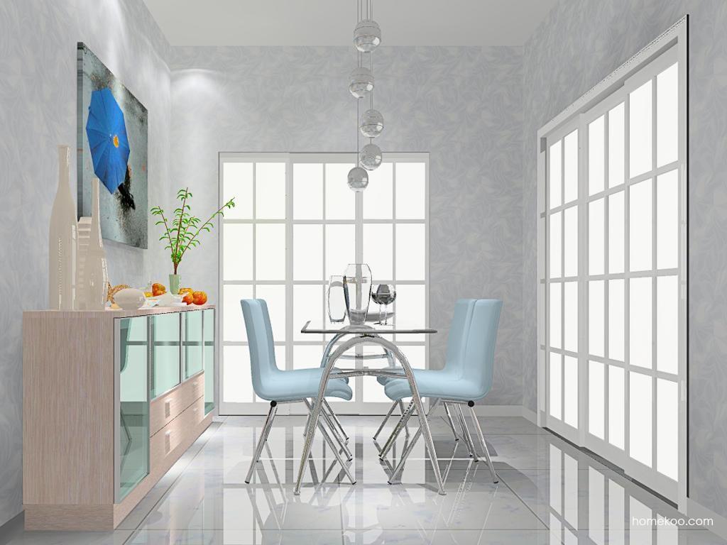新实用主义餐厅家具E9118