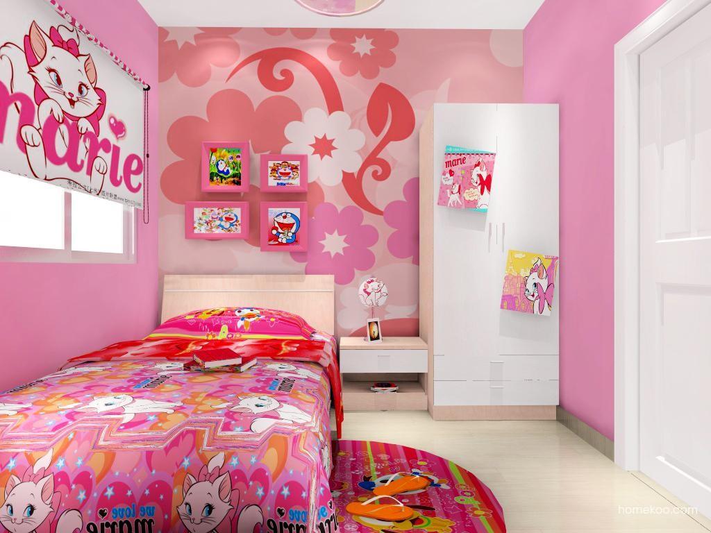 女孩的梦青少年房B11196