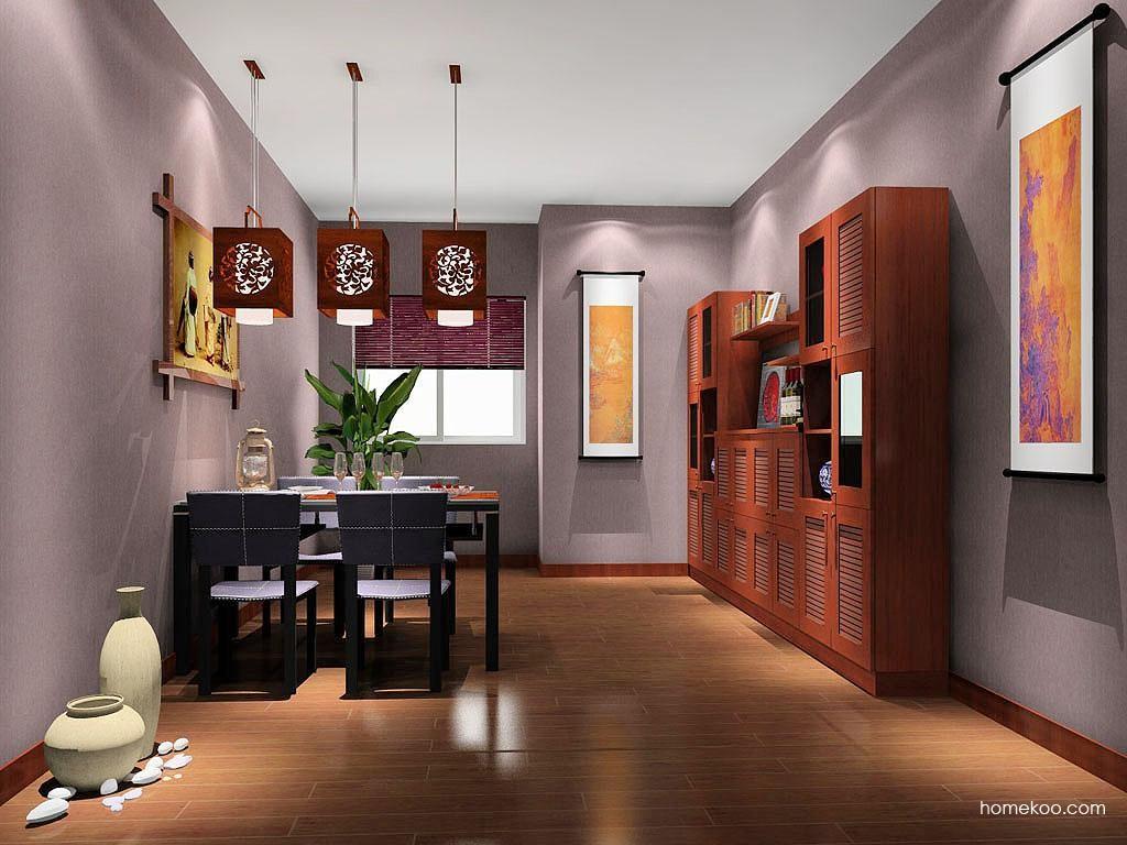 新中式主义餐厅家具E9129