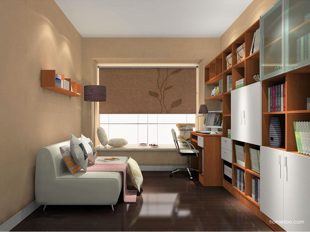 新实用主义书房家具C10660