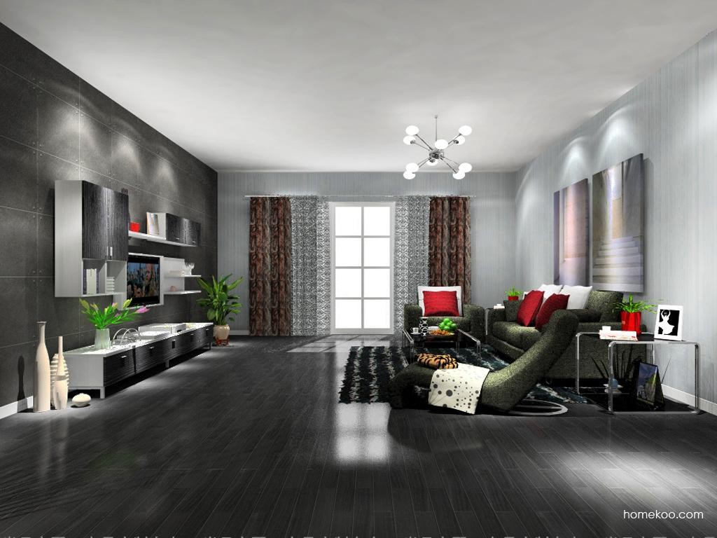 简约主义客厅家具D9142