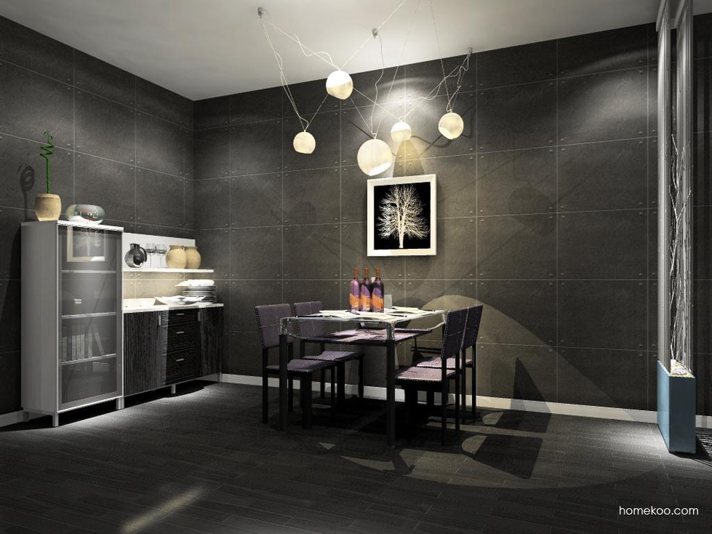 简约主义餐厅家具E9136