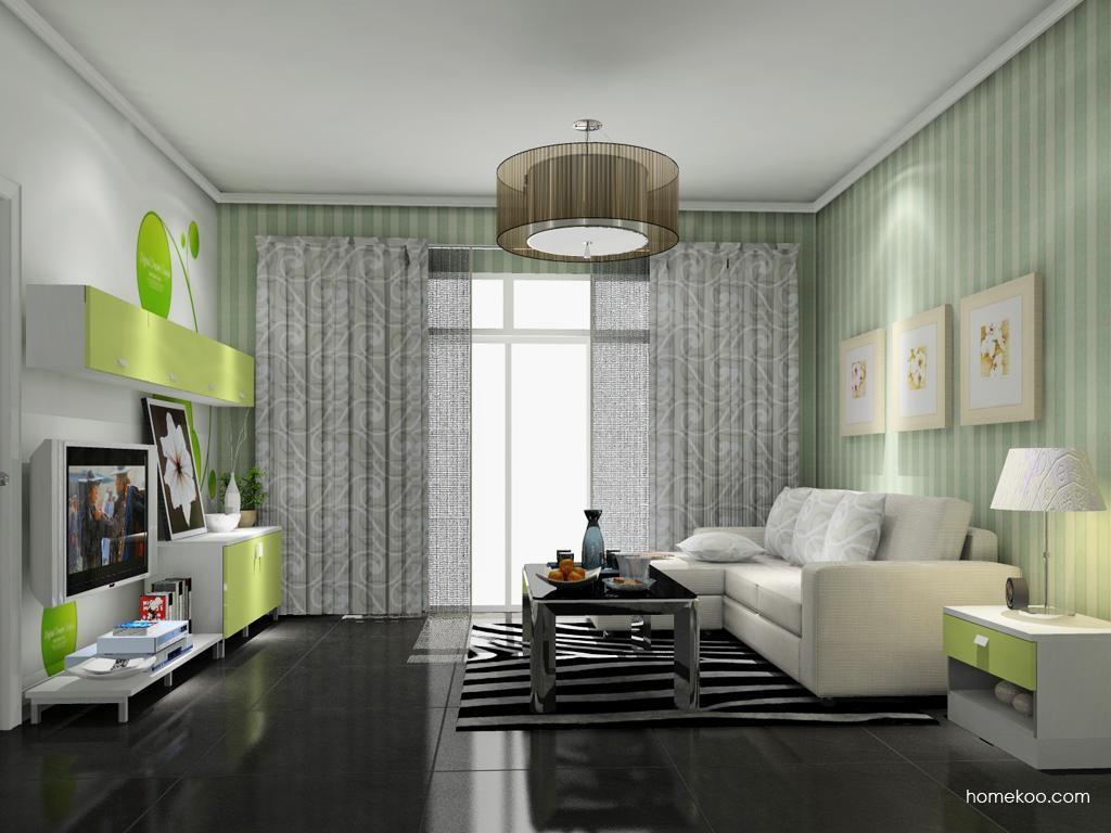 浪漫主义客厅家具D9146