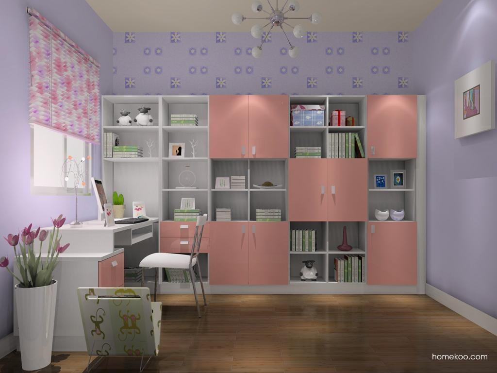 浪漫主义书房家具C10667