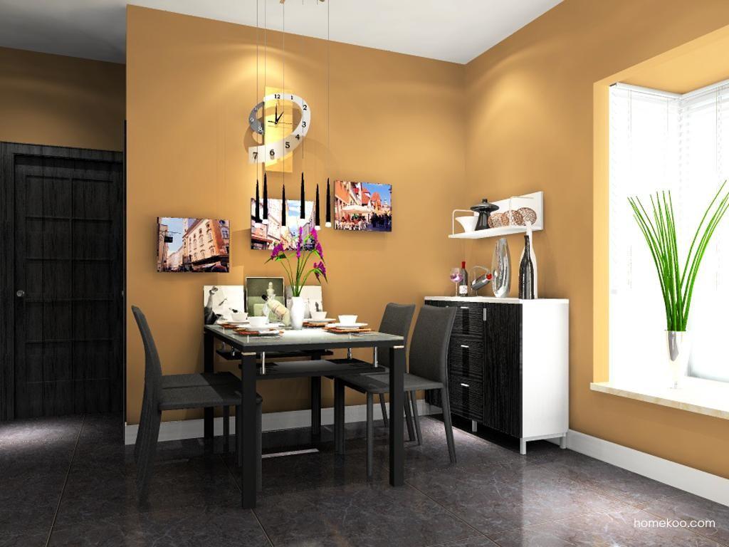简约主义餐厅家具E9141