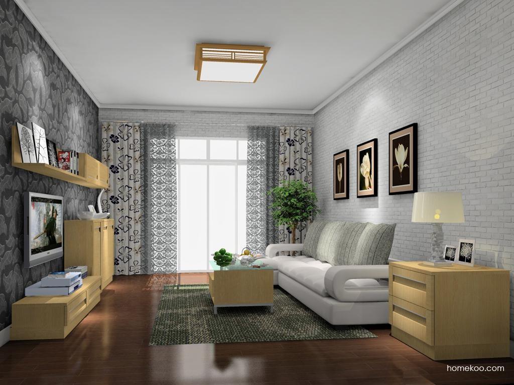 丹麦本色客厅家具D9154