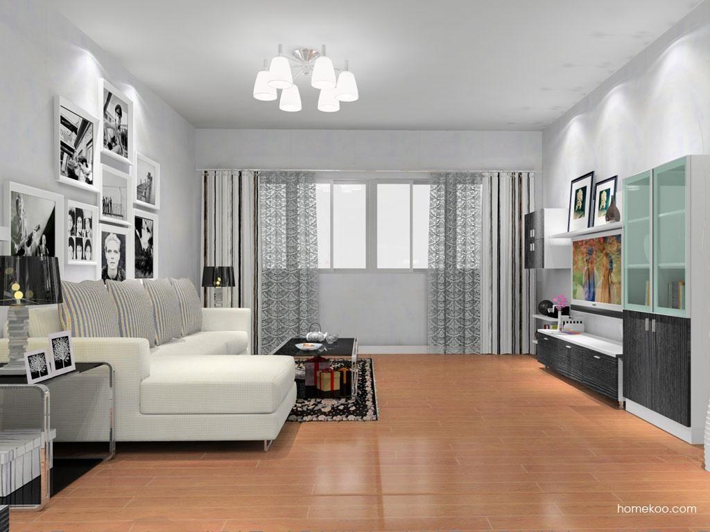 简约主义客厅家具D9156