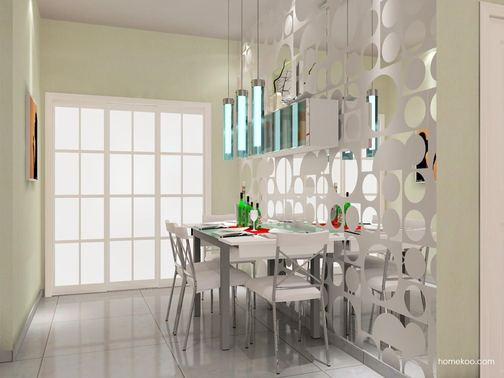 浪漫主义餐厅家具E9154