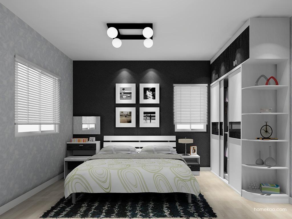 简约主义卧房家具A12081