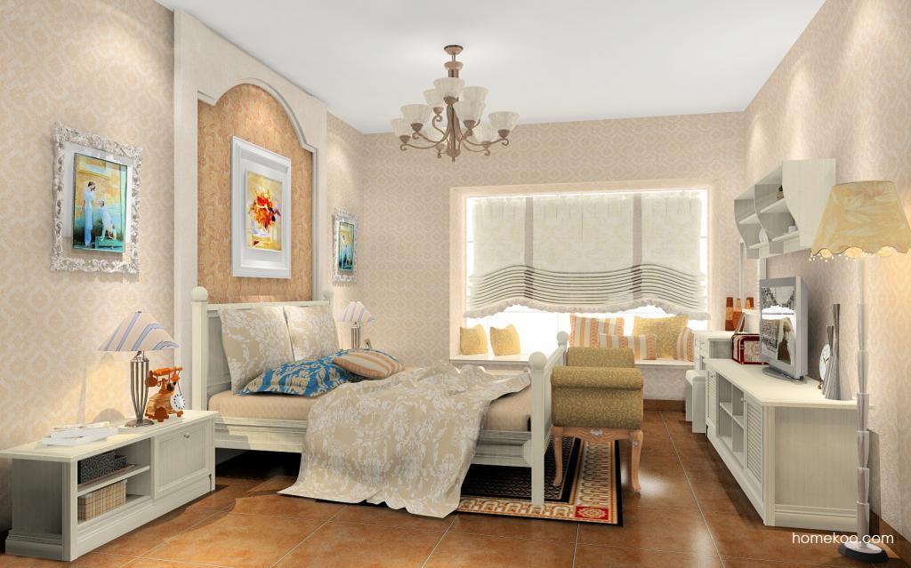英伦印象卧房家具A12088
