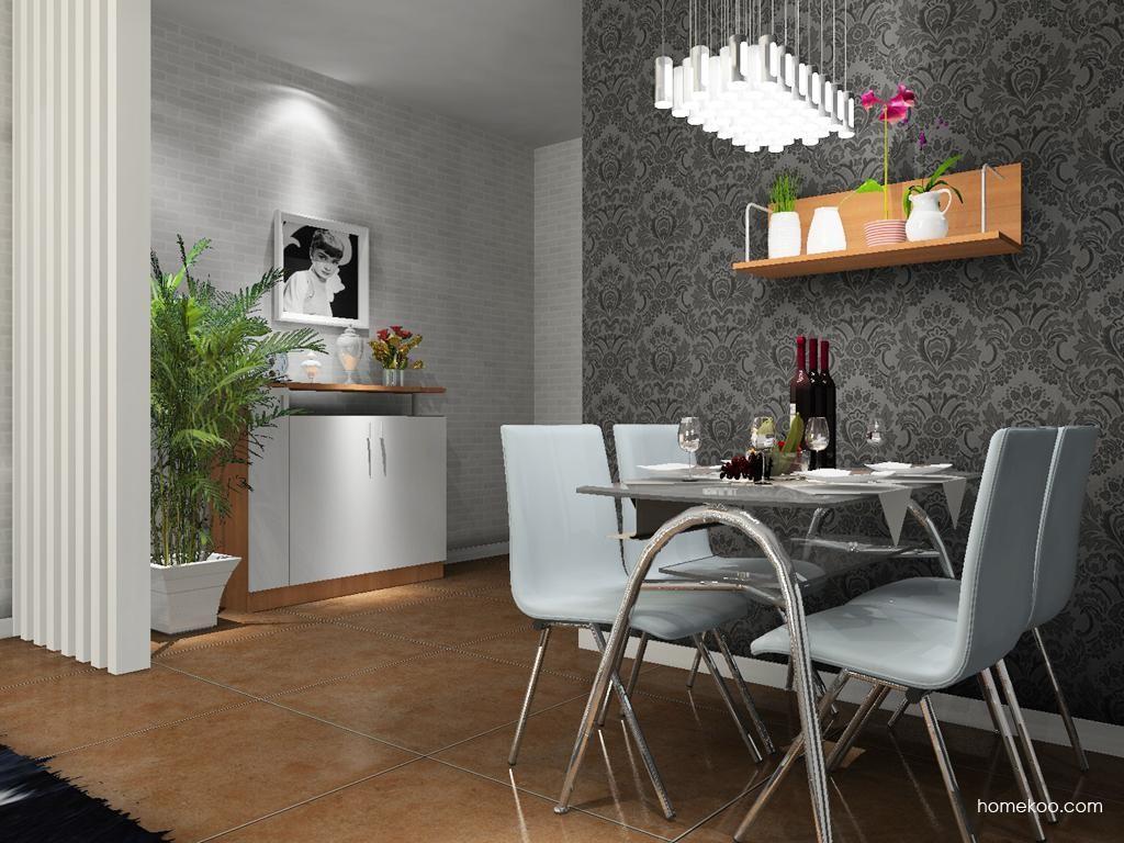新实用主义餐厅家具E9165