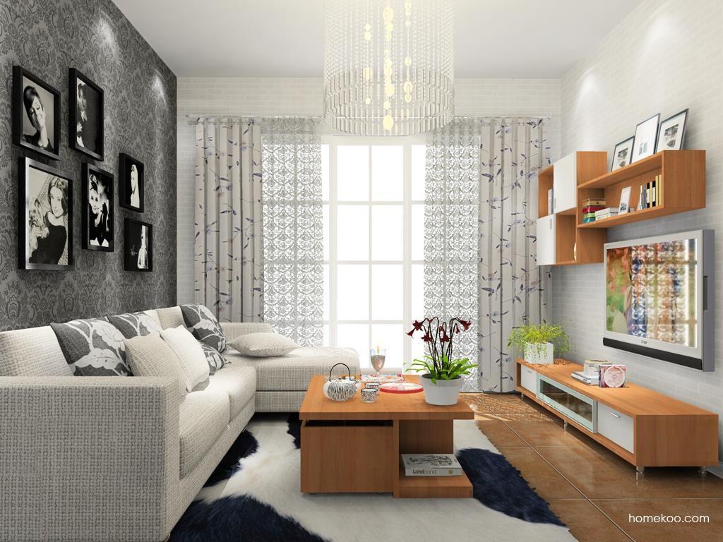 新实用主义客厅家具D9171