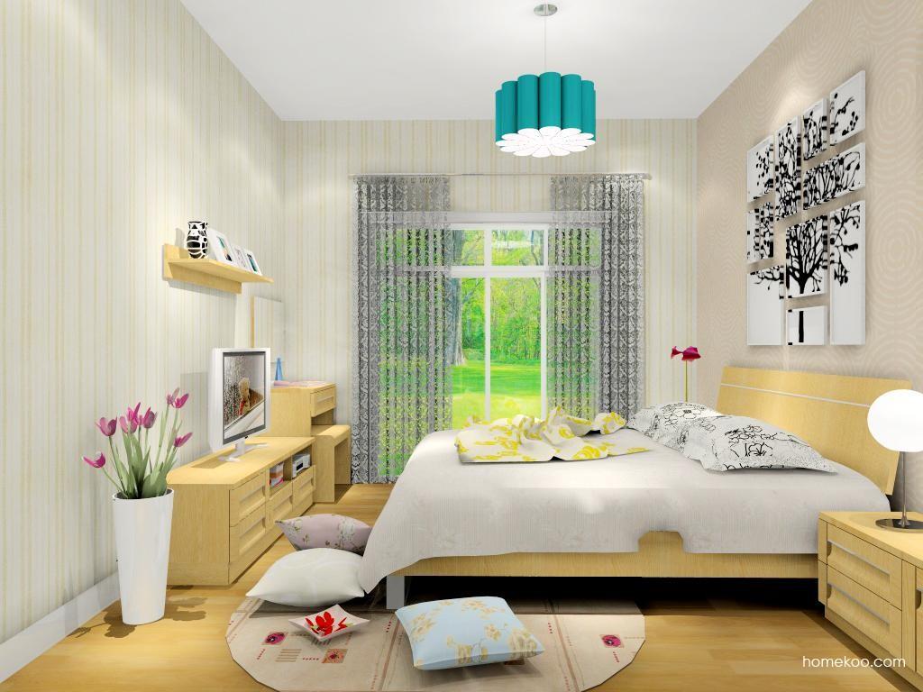 丹麦本色卧房家具A12095