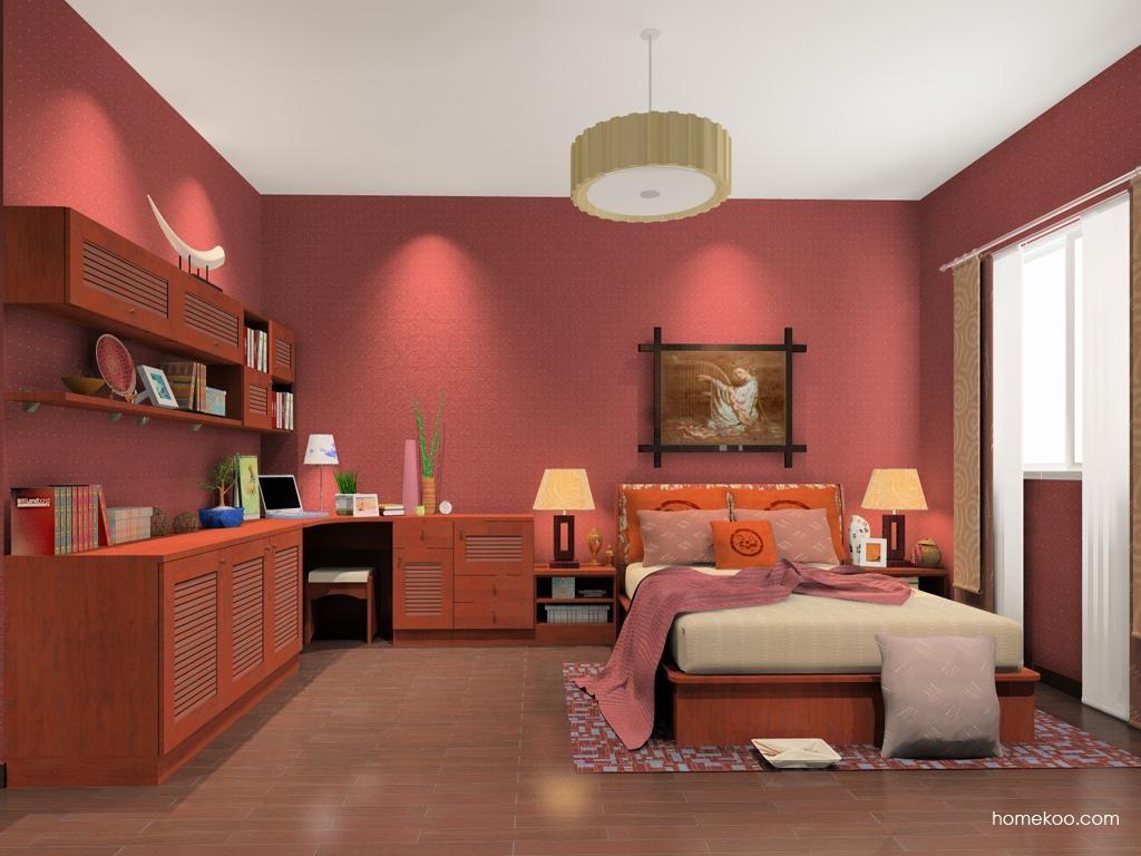 新中式主义卧房家具A12098