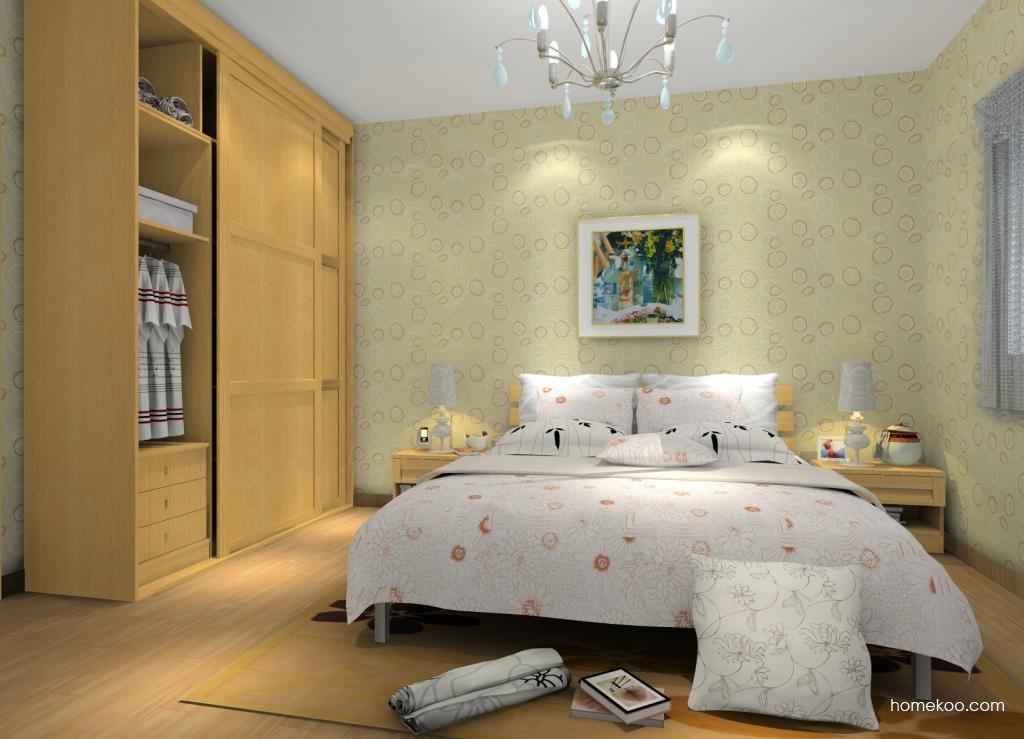 丹麦本色卧房家具A12129
