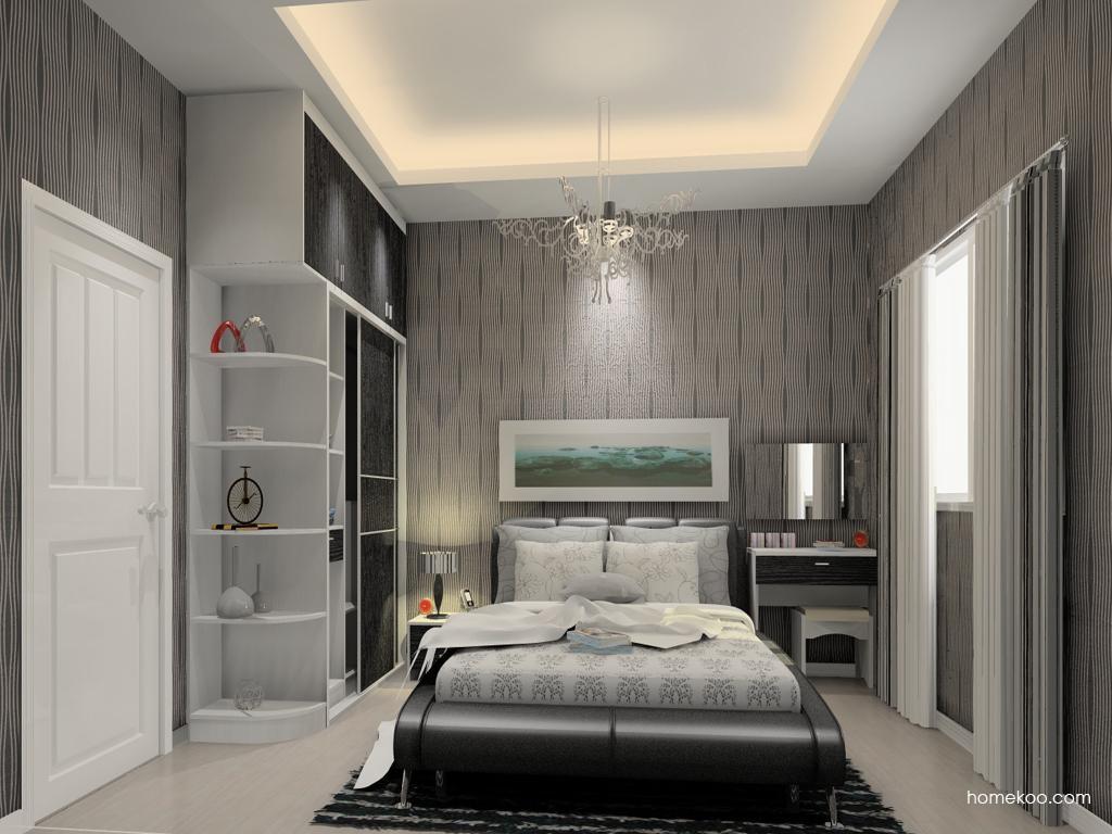 简约主义卧房家具A12137