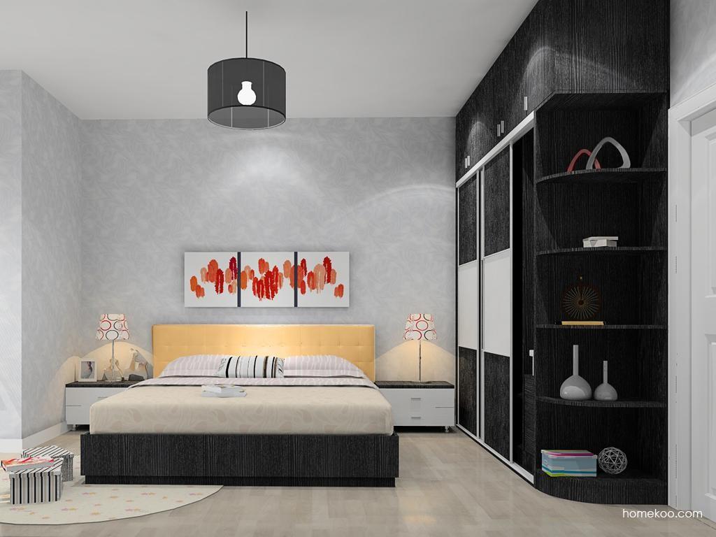 简约主义卧房家具A12150