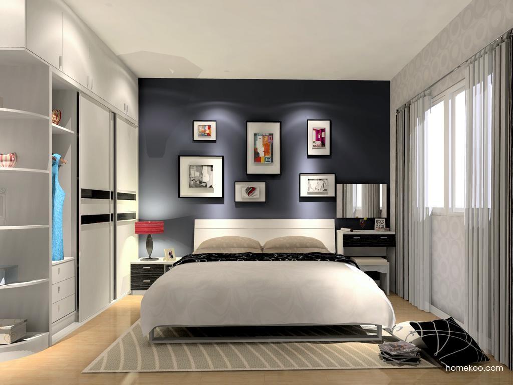 简约主义卧房家具A12151