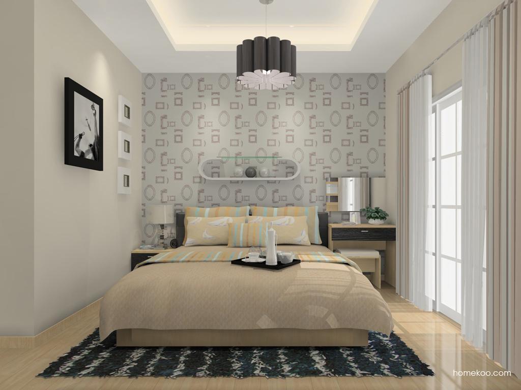 新实用主义卧房家具A12154