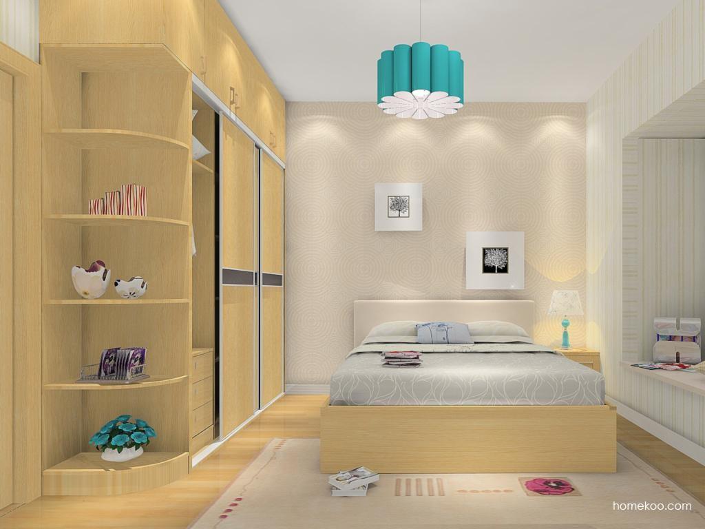 丹麦本色卧房家具A12179