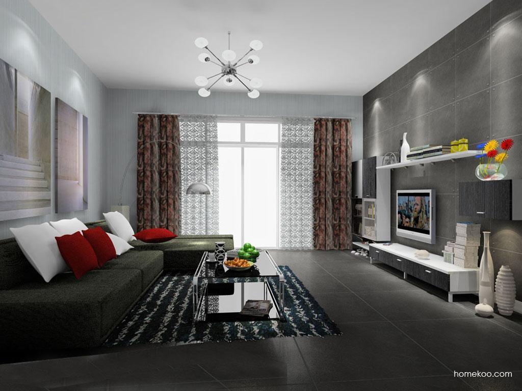 简约主义客厅家具D9206
